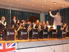 The Doncaster Youth Swing Orchestra gastierte im CBG
