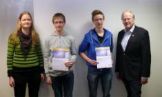 Bundeswettbewerb Informatik 2015/16 - Gleich zwei 1. Preise