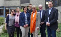 Bürgermeisterin Lisa Stremlau gratuliert