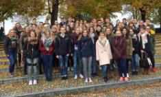 Drei Leistungskurse auf Studienfahrt in Prag