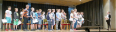 5-Klässler erleben ihren ersten Schultag am CBG