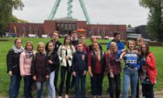Begeisterte Austauschschüler aus Russland