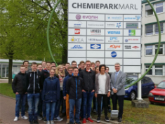 LK SW/Wirtschaft besucht Evonik Industries in Marl