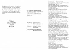 Stadtbücherei: Einladung zur Ausstellung Faszination Wasser