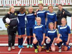 Unsere Fußballmädchen sind Kreismeister geworden!