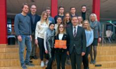 CBG als Gründerpreis-Schule ausgezeichnet