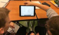 I-Pads erobern den CBG-Mathematikunterricht