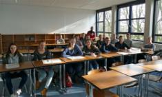 Mit Teilnehmern von drei Dülmener Schulen ...