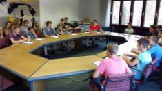 Der Bundestag zu Gast in Dülmen - CBG-ler machen sich kundig