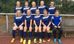 Mädchenmannschaft stolz auf gezeigte Leistung