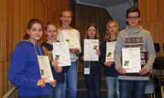 CBG-Mathematik-Olympioniken in Kreisendrunde