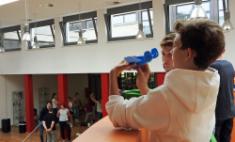 Schule - kreativ, sportlich - und mit Köpfchen!