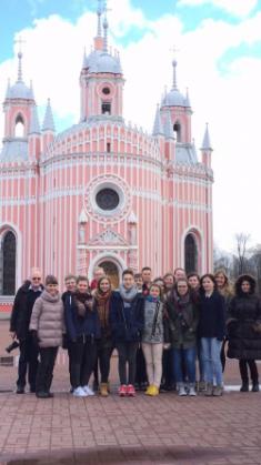 In St. Petersburg herzlich aufgenommen