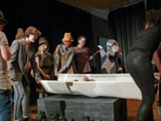 Schneewittchen-Aufführung der Junior-Theater-AG