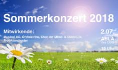 Sommer und Sonne - SOMMERKONZERT!