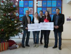 CBG überreicht Spendengelder vom Sponsorenlauf 2015