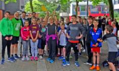 Ein Fest des Laufens und Helfens