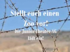 Gegen das Vergessen! - Junior-Theater-AG lädt ein