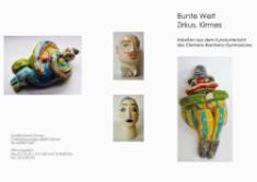 Ausstellungseröffnung - Bunte Kirmeswelt in der Bücherei